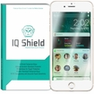 IQ Shield� Tempered Glass � Apple iPhone 7 Plus (White) Glass Screen Protector