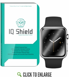 IQ Shield Tempered Glass – Apple Watch 42mm Glass Screen Protector