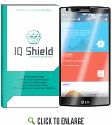 IQ Shield Tempered Glass – LG G5 Glass Screen Protector