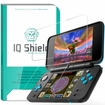 IQ Shield® Tempered Glass – Nintendo 2DS XL Glass Screen Protector (2x Top Glass + 2x Bottom PET)