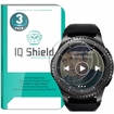 IQ Shield� Tempered Glass � Samsung Gear S3 Frontier Glass Screen Protector (3-Pack)