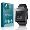 LG G Watch (6-Pack) Matte Anti-Glare Screen Protector