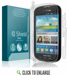 Samsung Galaxy Stellar Matte Anti-Glare Full Body Skin Protector