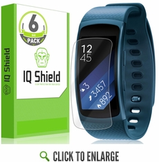 Samsung Gear Fit 2 LiQuid Shield Screen Protector (6-Pack)
