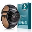 Samsung Gear S2 Classic 40mm Matte Screen Protector (6-Pack)