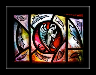 """1 Corinthians XIII 1"" by Sevenapples - Framed Christian Art"