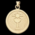 14K Gold First Holy Communion Medal - 3 Options Available