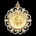 14K Gold First Holy Communion Medal - Engraving Available