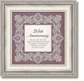 25th Anniversary Framed Tabletop Home Decor