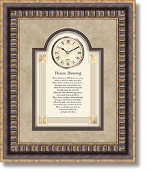 3D House Blessing Wall Clock by Heartfelt