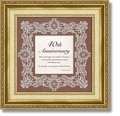 40th Anniversary Ecclesiastes 3:1 Framed Tabletop Christian Verse