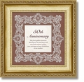 50th Anniversary Framed Tabletop Christian Verse