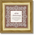 50th Anniversary Framed Tabletop Home Decor