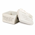 A CHILD OF GOD - Cream Keepsake Box