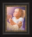 A Child's Prayer by Jay Bryant Ward - 4 Framed & Unframed Options