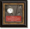 A Father's Love Framed Table Clock