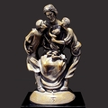 A Warm Embrace Christian Art Sculpture by Timothy P. Schmalz