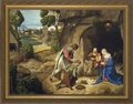 Adoration of Shepherds - Christian Art - 3 Framed Options