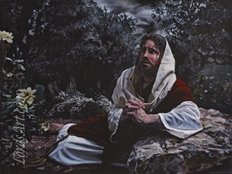 Agony in the Garden by Jason Jenicke - 2 Unframed Options Available