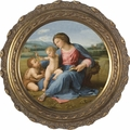 Alba Madonna by Raphael -  3 Framed Options - Christian Art