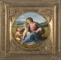 Alba Madonna by Raphael - 2 Options - Spandrel Framed Art