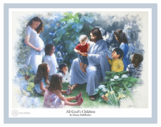 All God's Children by Danny Hahlbohm - 5 Unframed Options