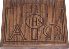 Alpha and Omega Bible Stand