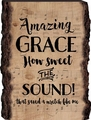 Amazing Grace Barky Sign