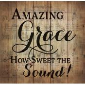 Amazing Grace Pallet Decor - Christian Home & Wall Decor