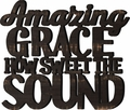 Amazing Grace Wall Word Home Decor
