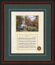 Amazing Grace with Decorative Art - 4 Frames Available