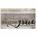 Amazing Grace Wood Pallet Sign - Christian Home & Wall Decor