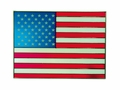 American Flag Patriotic Stained Glass Art