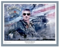 American Heroes - Helicopter Pilot by Danny Hahlbohm - Unframed Christian Art