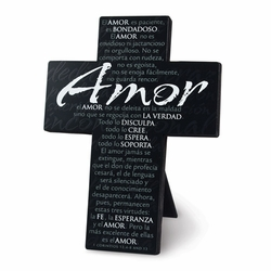 AMOR (LOVE) Cross