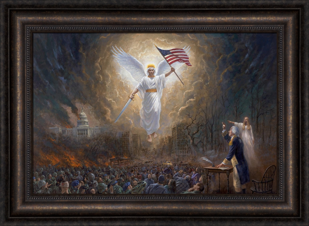 Angel of liberty the vision of george washington by jon mcnaughton angel of liberty the vision of george washington by jon mcnaughton 10 options negle Images