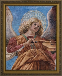 Angel Playing the Violin by Melozzo da Forli - 2 Framed Options