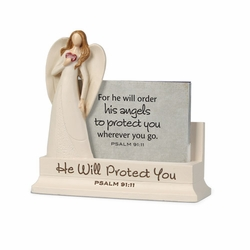 Angel Scripture Keeper - Christian Home Decor