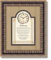 Anniversary Framed Wall Clock by Heartfelt