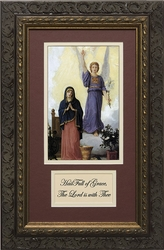 L'Annunciation with Prayer Framed