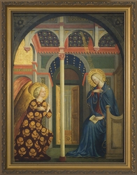 Annunciation by Masolino Da Panicale - 2 Framed Options