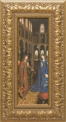 Annunciation by Jan Van Eyck - 4 Framed Options