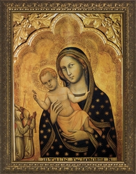 Annunciation by Giovanni di Paolo - 4 Framed Options - Christian Art