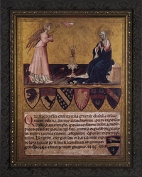 Annunciation by Giovanni di Paolo - 3 Framed Options