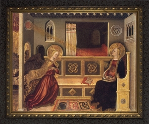 Annunciation by Gentile da Fabriano - 4 Framed Options