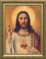 Antique Sacred Heart - 4 Framed Options - Christian Art