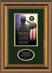Army Military Memorial Gift