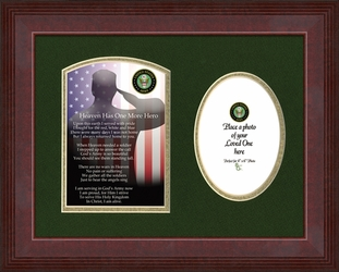 Army Military Memorial Photo Frame Gift