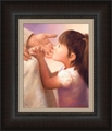 At Jesus Knee by Jay Bryant Ward - 2 Framed Options
