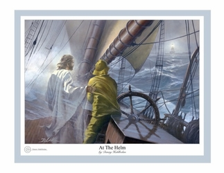 At the Helm by Danny Hahlbohm - 6 Unframed Options